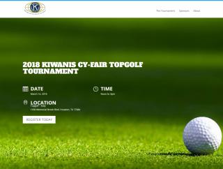 2018 Kiwanis Cy-Fair TOPGOLF Tournament